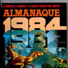 Cómics: 1984 ** ALMANAQUE 1981 ** TOUTAIN. Lote 41723679