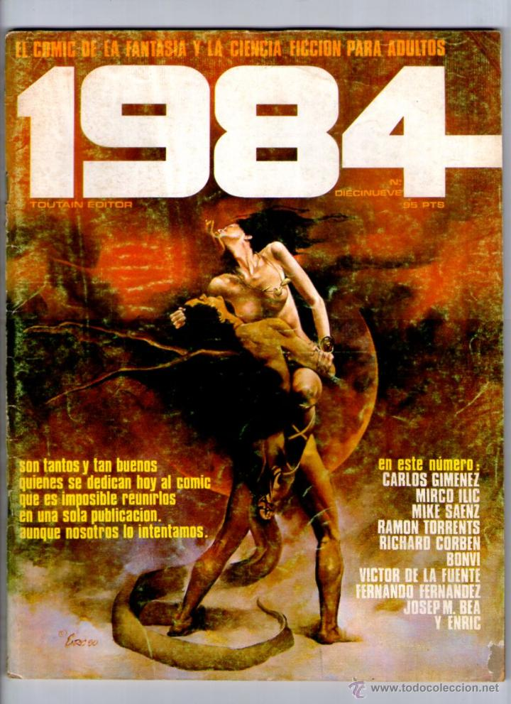 1984 Nº 19 ** DIECINUEVE ** TOUTAIN ** (Tebeos y Comics - Toutain - 1984)