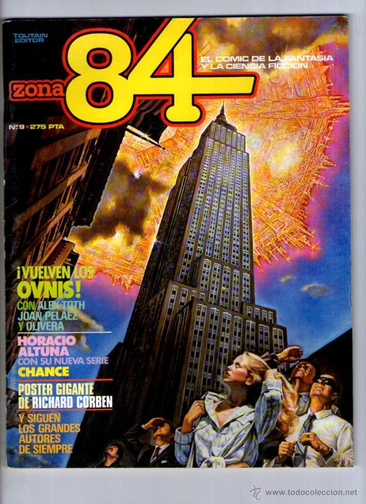 ZONA 84 Nº 9 ** TOUTAIN (Tebeos y Comics - Toutain - Zona 84)