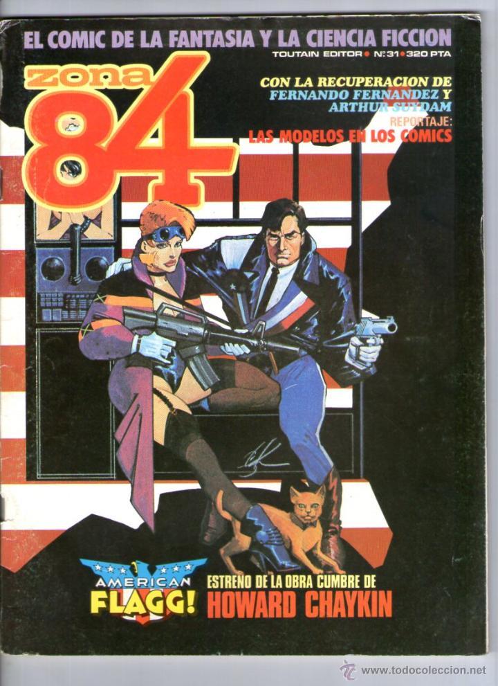 ZONA 84 Nº 31 ** TOUTAIN (Tebeos y Comics - Toutain - Zona 84)