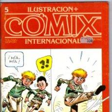 Cómics: COMIX INTERNACIONAL Nº 5 ** TOUTAIN. Lote 41726044