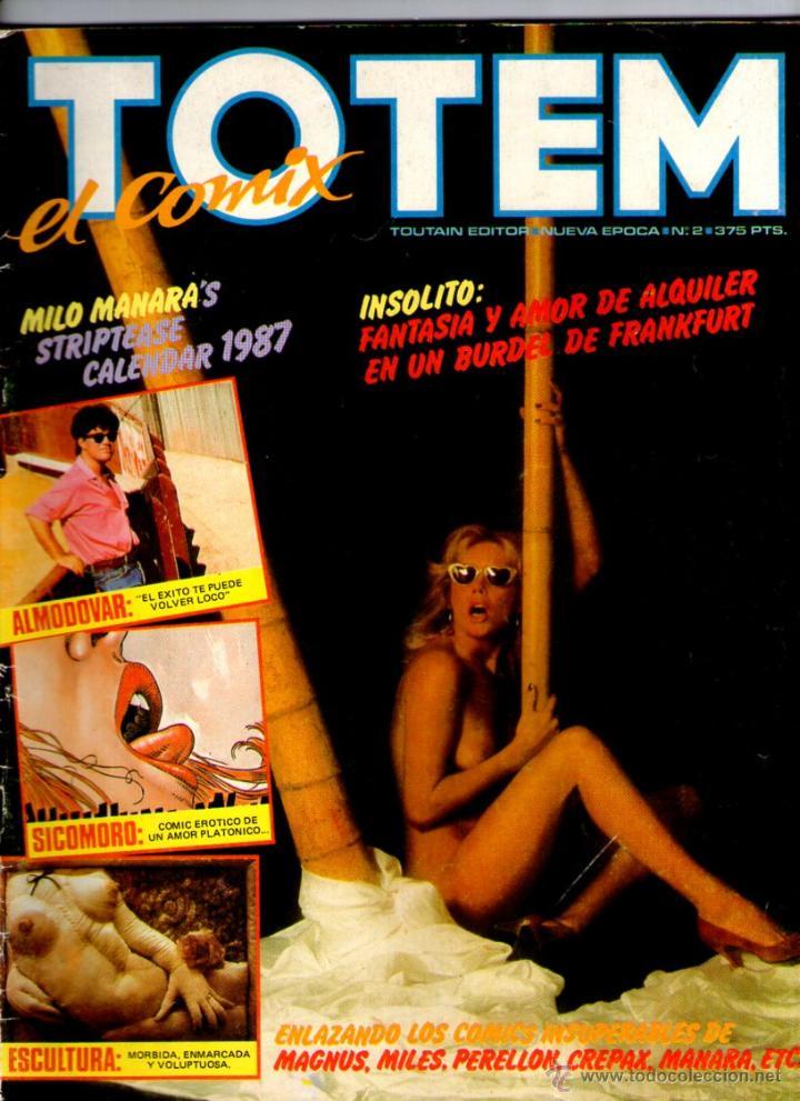 TOTEM EL COMIX Nº 2 ** TOUTAIN (Tebeos y Comics - Toutain - Otros)