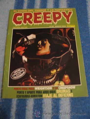 CREEPY Nº55 (TOUTAIN) LEER DESCRIPCION (Tebeos y Comics - Toutain - Creepy)