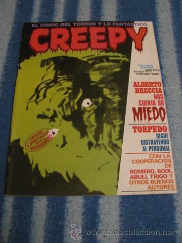 CREEPY Nº57 (TOUTAIN) LEER DESCRIPCION (Tebeos y Comics - Toutain - Creepy)