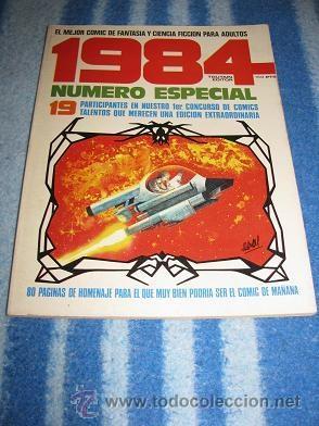 1984 NUMERO ESPECIAL CONCURSO (TOUTAIN) LEER DESCRIPCION (Tebeos y Comics - Toutain - 1984)