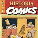 Cómics: HISTORIA DE LOS COMICS, TOUTAIN, 1982, 12 PRIMEROS FASCÍCULOS SIN ENCUADERNAR. COMIC. Lote 42189907