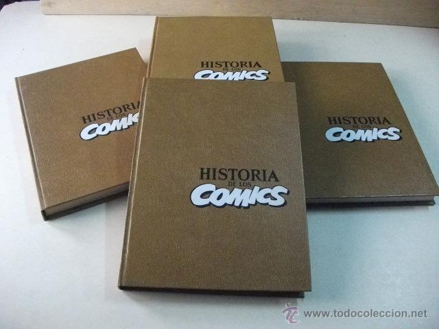 HISTORIA DE LOS COMICS – 4 TOMOS - COMPLETO (Tebeos y Comics - Toutain - Otros)