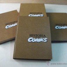 Cómics: HISTORIA DE LOS COMICS – 4 TOMOS - COMPLETO. Lote 42225150