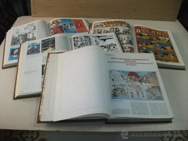 Cómics: HISTORIA DE LOS COMICS – 4 TOMOS - COMPLETO - Foto 2 - 42225150