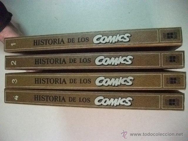 Cómics: HISTORIA DE LOS COMICS – 4 TOMOS - COMPLETO - Foto 3 - 42225150