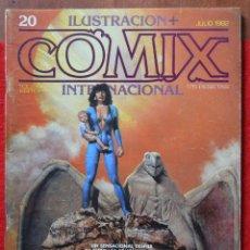 Comics: COMIX INTERNACIONAL - Nº 20 - JULIO 1982 - CORBEN - BARBE - ROYO - TRILLO - MANEL - ALTUNA. Lote 42247659