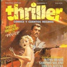 Cómics: TEBEOS-COMICS CANDY - THRILLER - Nº 1 - TOUTAIN - *AA99. Lote 42302522