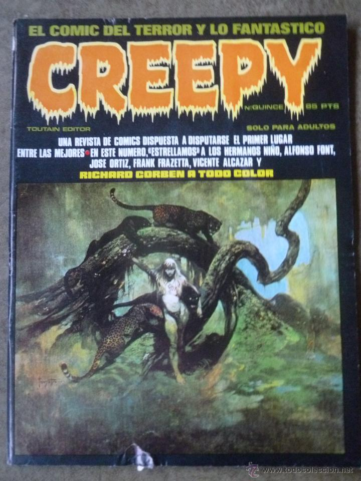 CREEPY. Nº 15 (Tebeos y Comics - Toutain - Creepy)