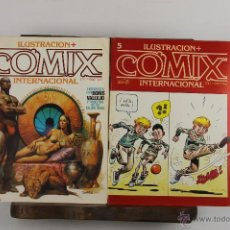 Cómics: D-360. COMIX INTERNACIONAL. COLECCION DE 6 EJEMPLARES. EDIT. TOUTAIN. 1980. . Lote 42770673