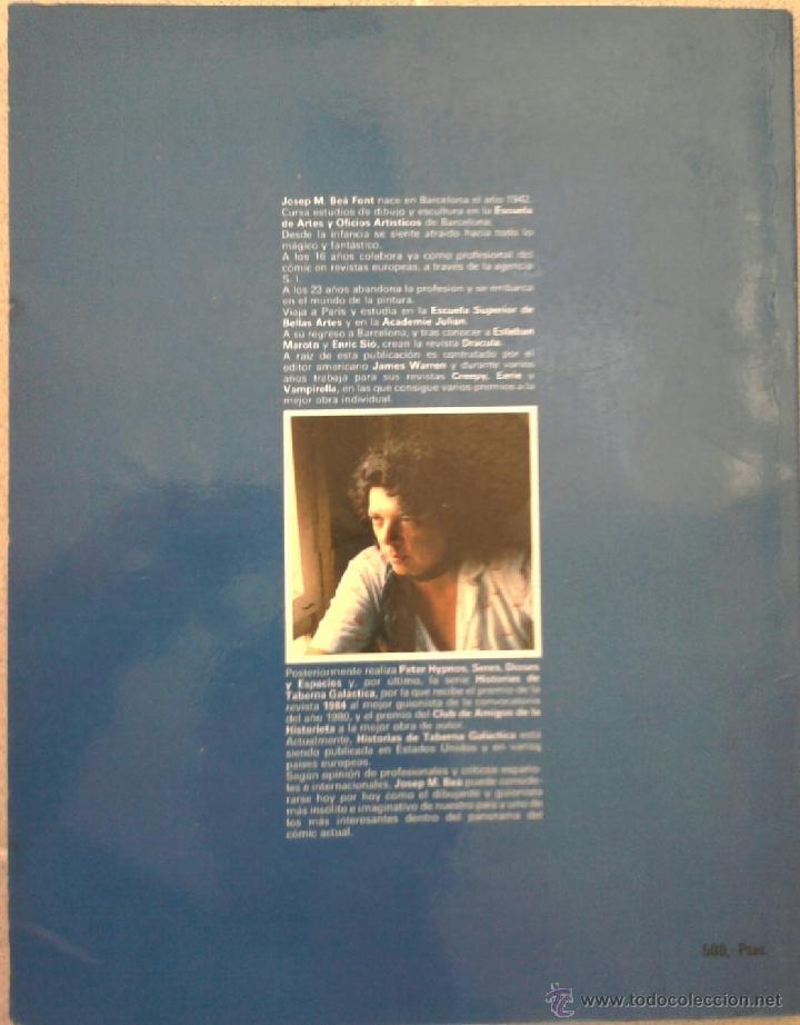 Cómics: COMIC UNICO ¡¡ HISTORIAS DE TABERNA GALACTICA,1981 FIRMA AUTOR JOSEP M.BEA,CREEPY,VAMPIRELLA,DRACULA - Foto 6 - 42904812