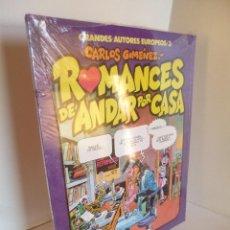 Cómics: ROMANCES DE ANDAR POR CASA, CARLOS GIMÉNEZ, TOUTAIN EDITOR 1984, GRANDES AUTORES EUROPEOS-3, OFRT. Lote 101131363