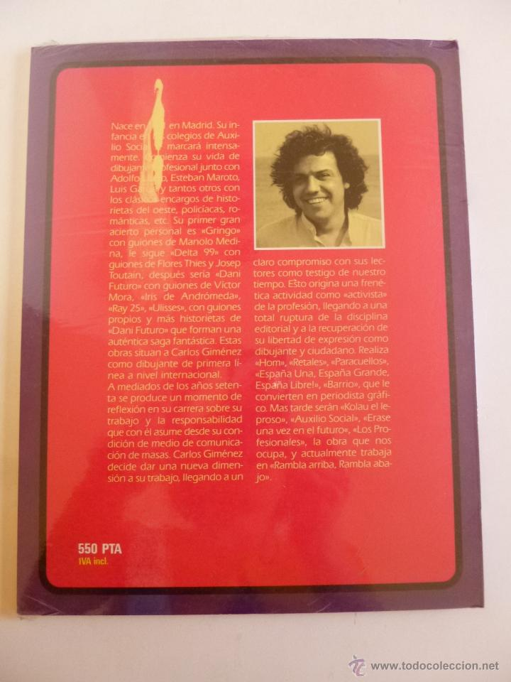 Cómics: ROMANCES DE ANDAR POR CASA, CARLOS GIMÉNEZ, TOUTAIN EDITOR 1984, GRANDES AUTORES EUROPEOS-3, OFRT - Foto 2 - 132442946