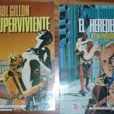 Cómics: ¡OCASION!, COLECCION COMPLETA: LA SUPERVIVIENTE (DOS LIBROS), PAUL GUILLON. Lote 115125163