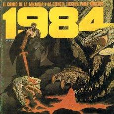Cómics: COMIC 1984 N.47 DICIEMBRE 1982 FANTASÍA Y CIENCIA FICCIÓN PARA ADULTOS. Lote 43113919