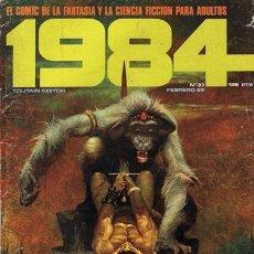 Cómics: COMIC 1984 N.37 FEBRERO 1982 FANTASÍA Y CIENCIA FICCIÓN PARA ADULTOS. Lote 43114866