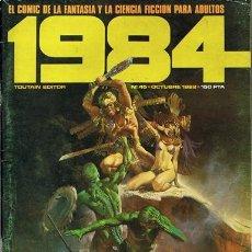 Cómics: COMIC 1984 N.45 FANTASÍA Y CIENCIA FICCIÓN PARA ADULTOS . Lote 43114965