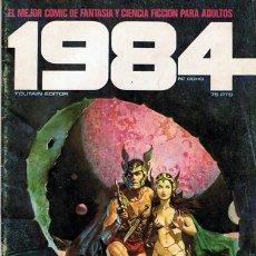 Cómics: COMIC 1984 N.8 FANTASÍA Y CIENCIA FICCIÓN PARA ADULTOS. Lote 43115085