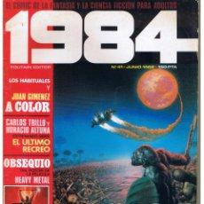 Comics : 1984. NUMERO 41. TOUTAIN (ST/). Lote 43281627