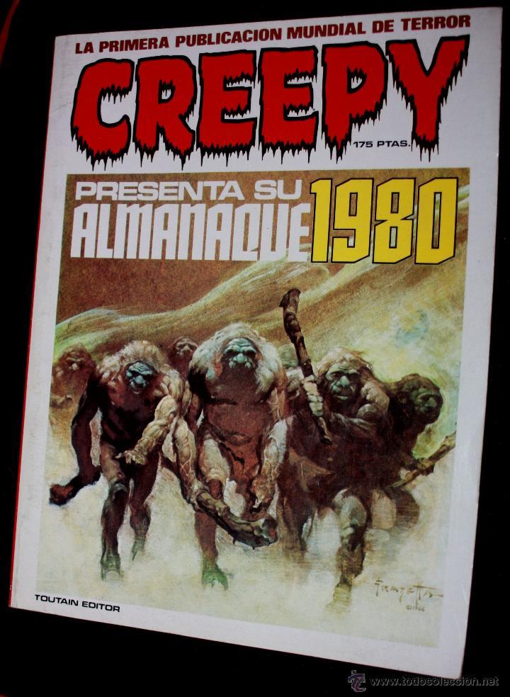 CREEPY : ALMANAQUE PARA 1980 (Tebeos y Comics - Toutain - Creepy)