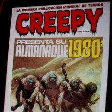 Fumetti: CREEPY : ALMANAQUE PARA 1980. Lote 43296174