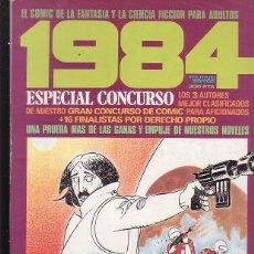 Comics : 1984 ESPECIAL CONCURSO. Lote 43518665