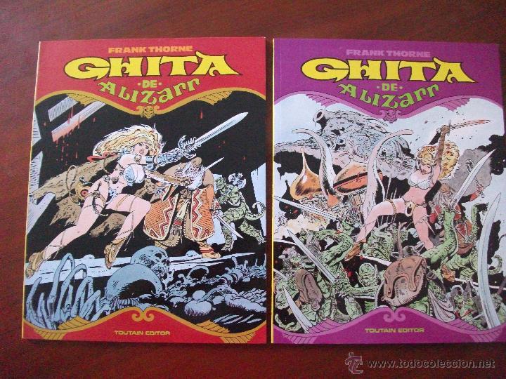 GHITA DE ALIZARR FRANK THORNE TOUTAIN EDITOR (Tebeos y Comics - Toutain - Otros)