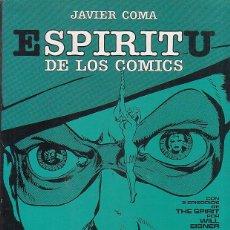 Cómics: SPIRIT ESPIRITU DE LOS COMICS / JAVIER COMA - TOUTAIN 1981. Lote 43732865