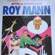 Cómics: ROY MANN - GRANDES AUTORES EUROPEOS Nº 12 - TOUTAIN. Lote 43820453