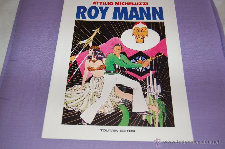 ROY MANN GRANDES AUTORES EUROPEOS (Tebeos y Comics - Toutain - Otros)