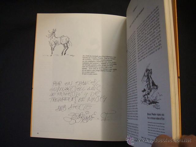 Cómics: FRED HARMAN COMICS Y WESTERN - CON DIBUJO ORIGINAL Y DEDICATORIA DE JORDI BUXADE - TOUTAIN - - Foto 3 - 44085463