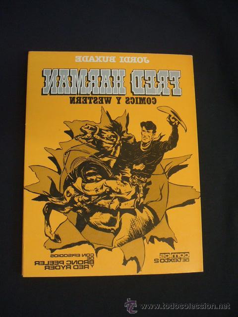 Cómics: FRED HARMAN COMICS Y WESTERN - CON DIBUJO ORIGINAL Y DEDICATORIA DE JORDI BUXADE - TOUTAIN - - Foto 10 - 44085463