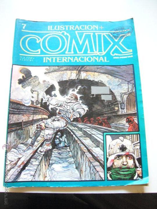 COMIX INTERNACIONAL Nº 7 TOUTAIN EISNER BILAL CHAYKIN SOMMER BRECCIA REVISTA INPRESCINDIBLE E2 (Tebeos y Comics - Toutain - Comix Internacional)