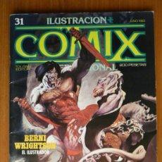 Cómics: COMIX INTERNACIONAL Nº 31 - JUNIO 1983. Lote 44114463