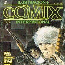 Cómics: CÓMIC ILUSTRACION + COMIX INTERNACIONAL N.21 . Lote 44734783