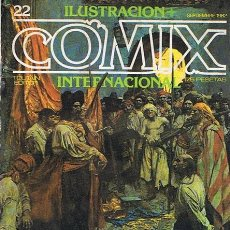 Cómics: CÓMIC ILUSTRACION + COMIX INTERNACIONAL N.22. Lote 44734860