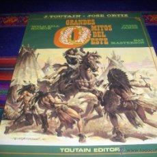 Cómics: GRANDES MITOS DEL OESTE Nº 1. TOUTAIN EDITOR 1987. REGALO 4 NOVELAS OESTE MARCIAL LAFUENTE ESTEFANÍA. Lote 44820624