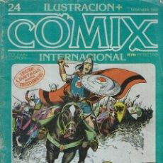 Cómics: ILUSTRACIÓN + COMIX INTERNACIONAL Nº 24 ED.TOUTAIN 1982. Lote 44989010