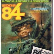 Comics : ZONA 84. Nº 59. 100 PÁGINAS CON EXTRA PROMESAS EN EL SUPLEMENTO. TOUTAIN (ST). Lote 45173121