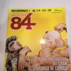 Comics: ZONA 84 - RETAPADO CON 3 COMICS - NUMS 24 25 26. Lote 45549514