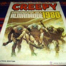 Cómics: CREEPY ALMANAQUE 1980. TOUTAIN EDITOR 175 PTS. REGALO Nº 35 ESPECIAL CON VAMPIRELLA.. Lote 45860727