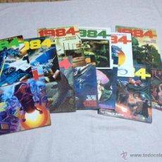 Comics : 1984, SEGUNDA EDICIÓN. NÚMEROS DEL 1 AL 12. NUEVOS. Lote 46951692