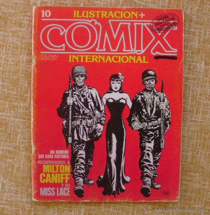 Cómics: Comix Internacional, Ilustración +, Toutain Editor, números 10, 19 y 29, años 1981, 1982 y 1983 - Foto 2 - 47016550