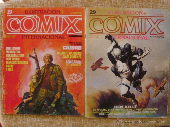 Cómics: Comix Internacional, Ilustración +, Toutain Editor, números 10, 19 y 29, años 1981, 1982 y 1983 - Foto 3 - 47016550