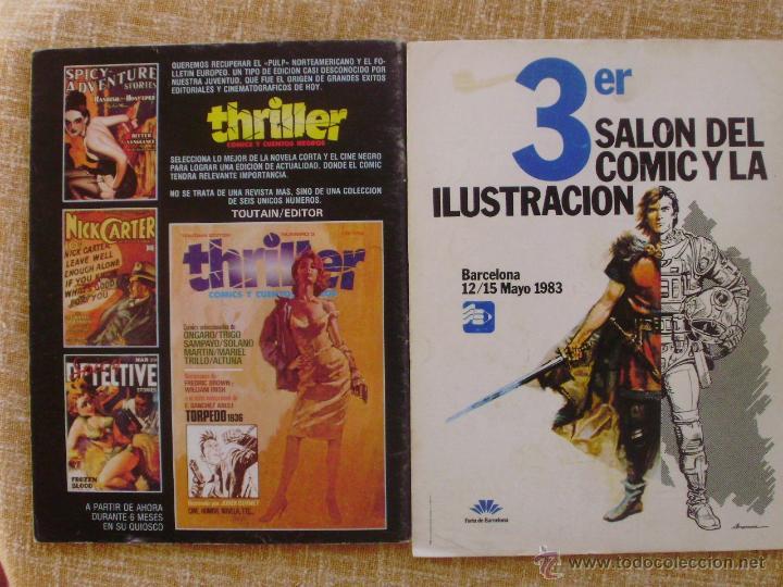 Cómics: Comix Internacional, Ilustración +, Toutain Editor, números 10, 19 y 29, años 1981, 1982 y 1983 - Foto 5 - 47016550