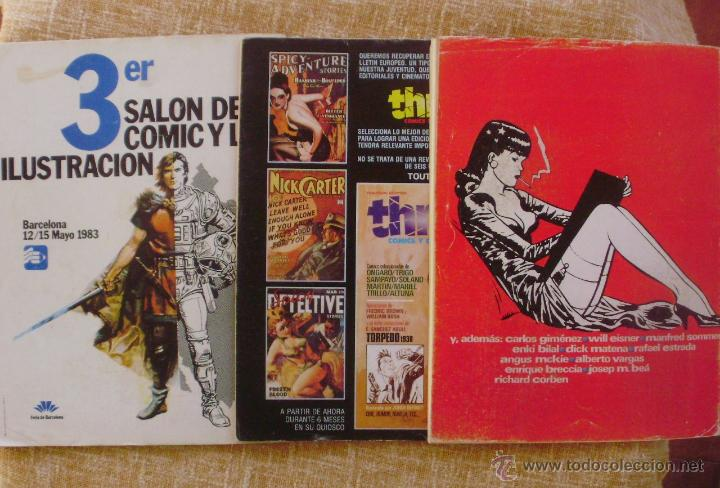Cómics: Comix Internacional, Ilustración +, Toutain Editor, números 10, 19 y 29, años 1981, 1982 y 1983 - Foto 6 - 47016550